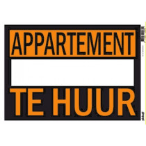 Affiches 25x35cm Pickup Appartement Te Huur