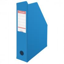 Leitz Tijdschriftenhouder A4 70mm Rug PVC Plooibaar Blauw