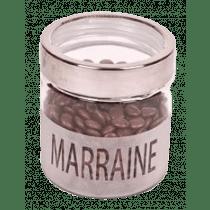 Bokaal Glas 12cm Marraine