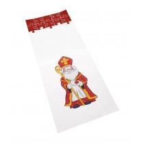 Zak 16x35cm Micca Sinterklaas Met Bodem 50 Stuks
