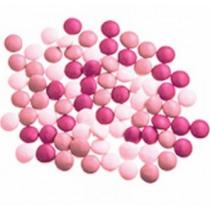 Vanparys Mini Confetti Mix Wit/Roos/Fuchsia Glossy 1kg
