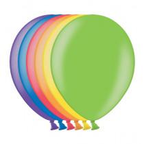 Ballon Metallic 30cm Assortiment 50 Stuks
