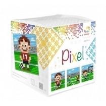 Pixelhobby Kubus Pixel Voetbal
