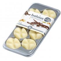 Bolsius Geurwax 8 Blokjes Vanilla