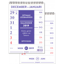 Brepols Weekkalender 210x291mm NL Optivision