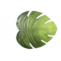 Placemat Blad Monstera 45x42cm Groen