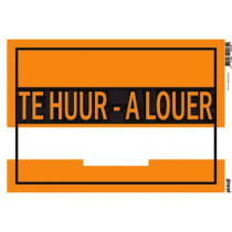 Affiches 25x35cm Pickup A Louer - Te Huur