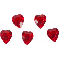 Coeurs Rouge 100ml Brillant