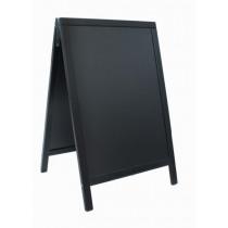 Stoepbord Duplo 85X55Cm Zwart Hout