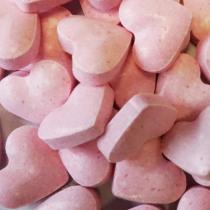 Suikersnoep Roze Hartjes 850g