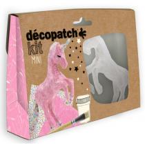 Decopatch Mini Kit - Eenhoorn
