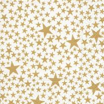 Servetten 25x25cm Goud Starlets 20 Stuks