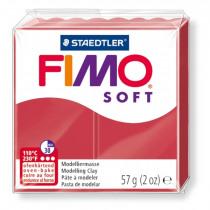FIMO Soft Boetseerklei Kersrood