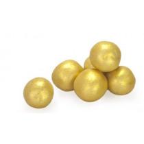 Biscuitballetjes goud 400g Parelmoer