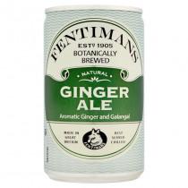 Blikje Fentimans Tonic 150ml 88mm Groen 53mm Diameter Ginger Ale