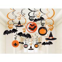 Slingers Swirl Deco Halloween 30 Stuks