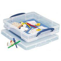 REALLY USEFUL BOX 7l TRANSPARANT MET 7VE