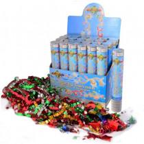 Confetti Popper 24cm Multicolor Mixed Confettis