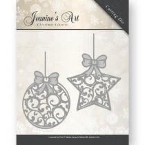 Snijmal Jeanine'S Art Kerstballen