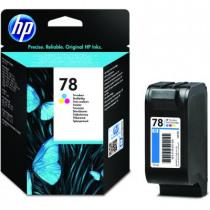 HP Inktcartridge 78 Tricolor 19ml