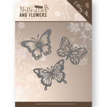Snijmal Jeanine'S Art Vlinders