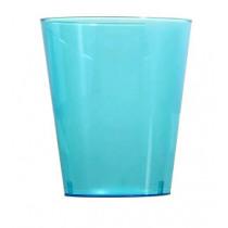 Glas Kleurrijk Ava Blauw 150cc - 225cc 10 Stuks