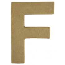 Letter Papiermache F 10,5x3x15cm