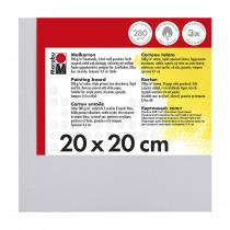 Schilderskarton 20x20cm Marabu