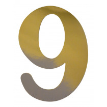 Jubileumcijfer 27cm Goud '9'
