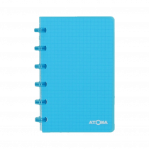 Atoma Notaboek Transparant 100x160mm 120 Bladzijden Geruit