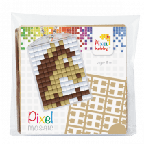 Pixelhobby Sleutelhanger Pixel Paard
