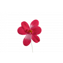 Bloempje Op Prikker 20cm Fuchsia 3 Stuks
