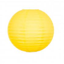 Lampion Deco Geel 30cm Diameter