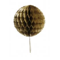 Honeycomb Bol Goud 30cm