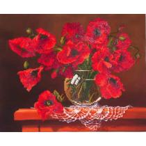 Diamond Dotz Red Poppies