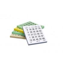 Bingoblaadjes 100 Vellen / Blokje 5 Stuks