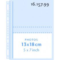 Henzo Fototassen Transparant 13X18 Horizontaal 10Stuks