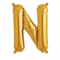 Folieballon 41cm Goud 'N'