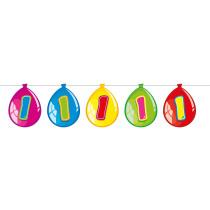 Ballonnen Slinger Birthday 1 Jaar 10m