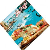 Pizzadoos Kraft 30x30x4,2cm Hot Venezia 100 Stuks