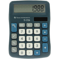Texas Instruments Rekenmachine Ti1726 Solar 8 Cijfers