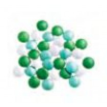 Vanparys Mini Confetti Mix Wit/Watergroen/Emerald Glossy 1kg