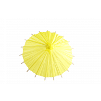Parasol Deco Geel 20cm Diameter