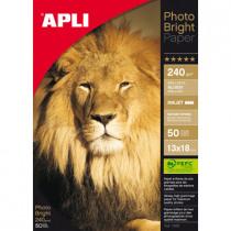 Fotopapier 10X15Cm Apli 240G Glossy Inkjet 150Vellen