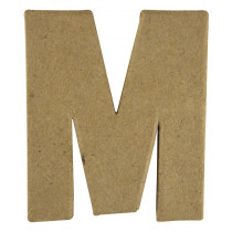 Letter Papiermache M 10,5x3x15cm