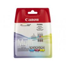 Canon Cartridge Tricolor Cli521 Multipack