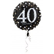 Folieballon 43cm Sparkling Birthday
