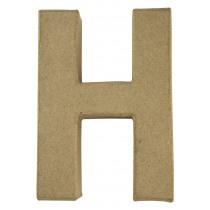 Letter Papiermache H 10,5x3x15cm