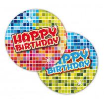 Bordjes Birthday Blocks 6 Stuks