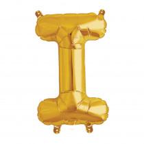 Ballon Folie 41cm Goud 'I'